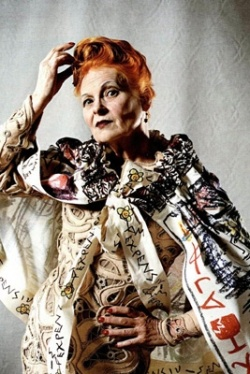 Vivienne Westwood got her start in the Kings Road, designing clothes for punk rockers back in the 1970s. Over the decades she moved from streetwear to haute couture, mixing elements of club style with tradtional UK fashion however she wishes. Having once shocked and appalled the fashion world, she is now a respected and honored designer, considered by many to be the Grand Dame of British fashion.