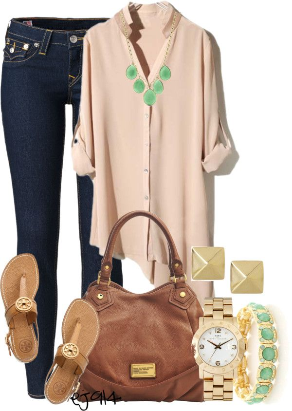 "For a casual day. -""I Never Really Cared Until I Met You"" by ej914 on Polyvore"