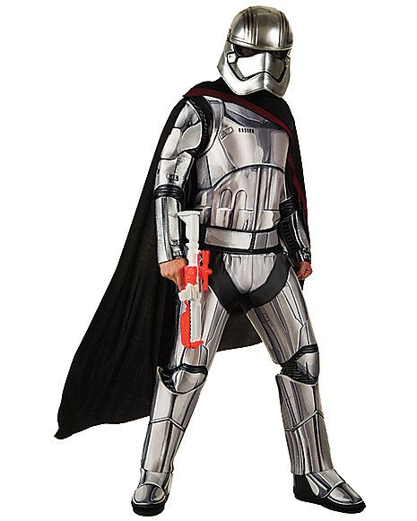 Adult Captain Phasma Costume - Star Wars Force Awakens - Spirithalloween.com