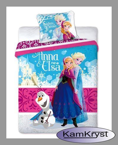 Nowy wzór pościeli Kraina Lodu 160x200 dostępna na stronie naszego sklepu - zapraszamy #Frozen_bedding #Disney_Frozen #Girls_Bedding #Frozen