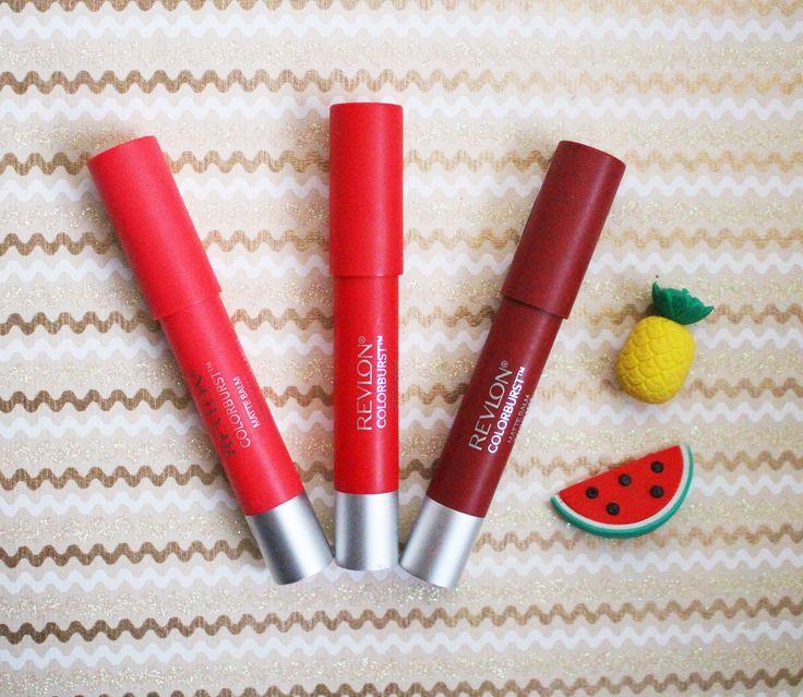 Oh les jolis petits rouges à lèvres mats Colorburst de Revlon