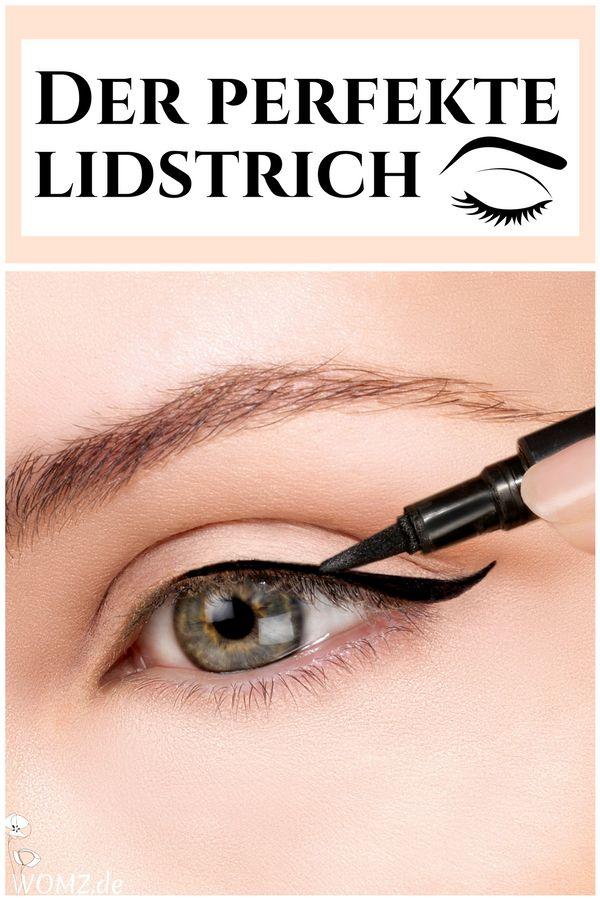 Gerade Anfänger tun sich beim Eyeliner Auftragen schwer. Ich zeige dir, wie auch Neulingen der perfekte Lidstrich gelingt und welche Eyeliner Arten es gibt. Spezielle Augenformen erfordern spezielles Make-up. Deswegen erfährst du, welchen Lidstrich du bei Schlupflidern anwenden solltest und was dir das Eyeliner Auftragen erleichtert. #lidstrich #eyeliner #anfänger #schlupflid