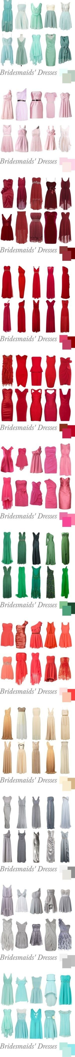 Bridesmaids - What look are you shooting for?