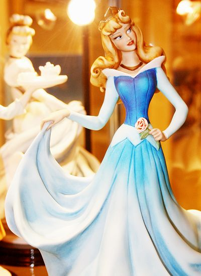 Sleeping Beauty figurine. --- I will buy this for you when I have money.
