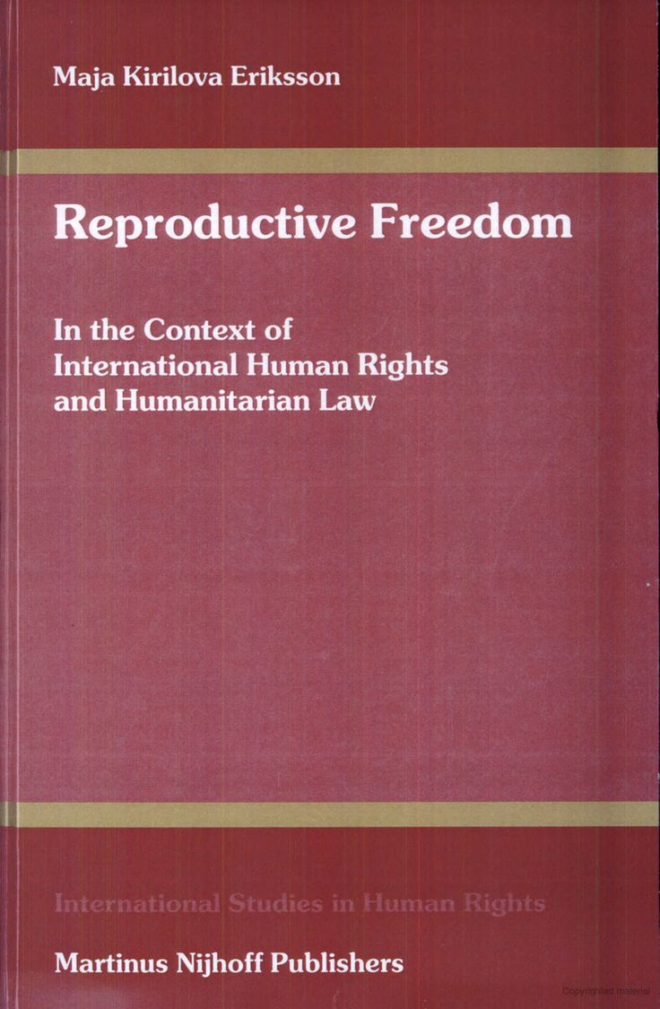 Reproductive freedom essay 2015
