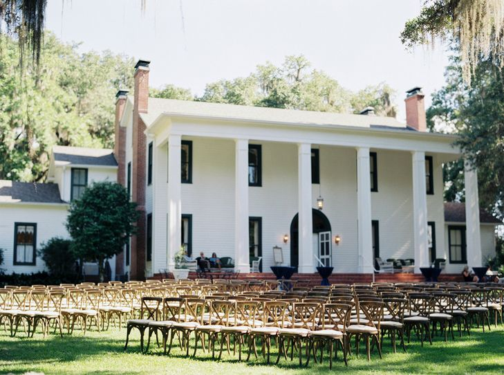 A Southern Garden Style Wedding At Southwood House And Cottages In Tee Florida