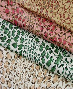 Rose Cumming Leopard Linen