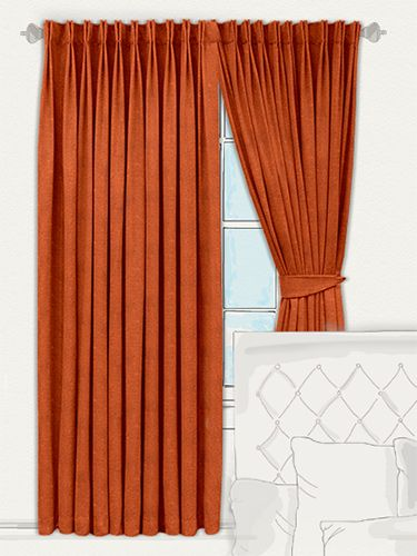 1000 Ideas About Burnt Orange Curtains On Pinterest