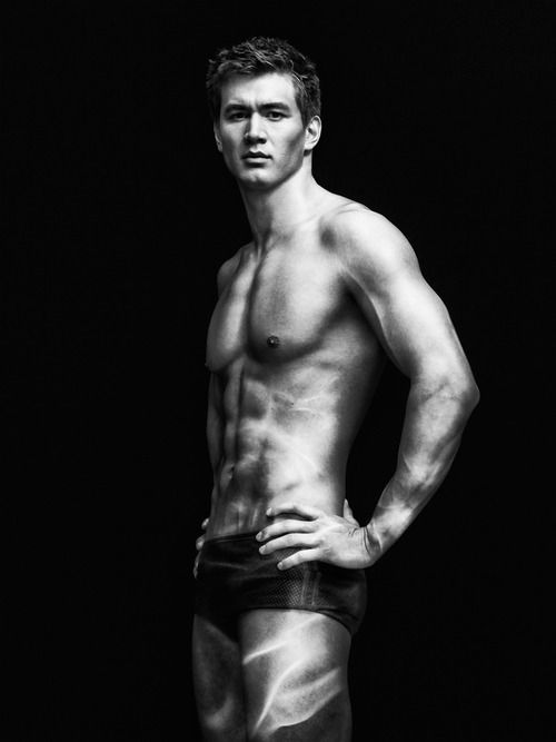 Nathan Adrian (USA), gold medal winning swimmer at the 2012 Olympics. <3<3