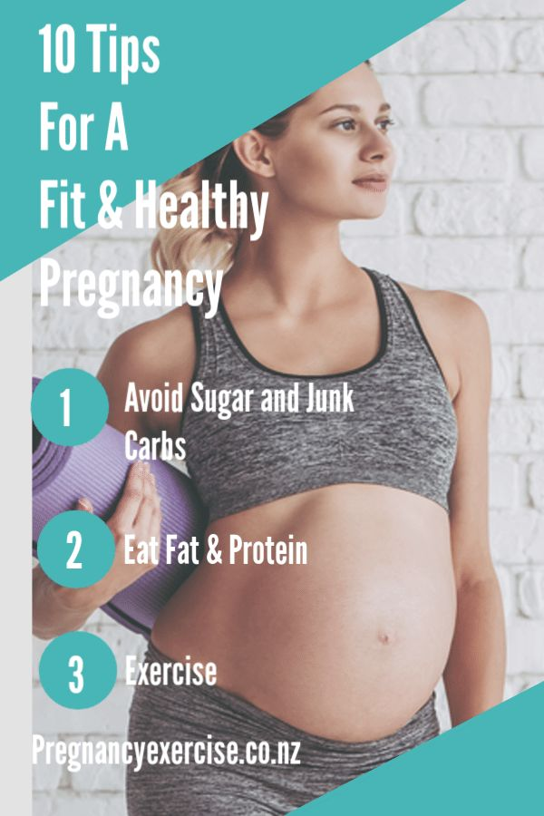 10 Tips To Stay in Shape During Pregnancy – Kristina Stanton