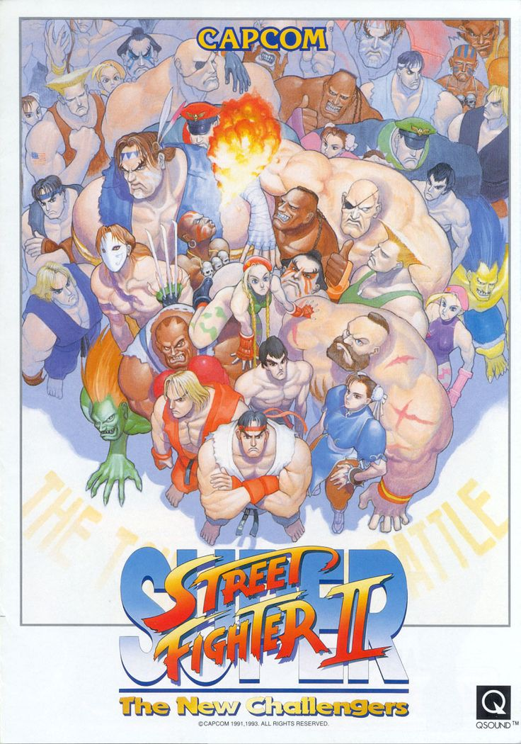 Super Street Fighter II - The New Challengers; on SNES, Genesis, and Wii