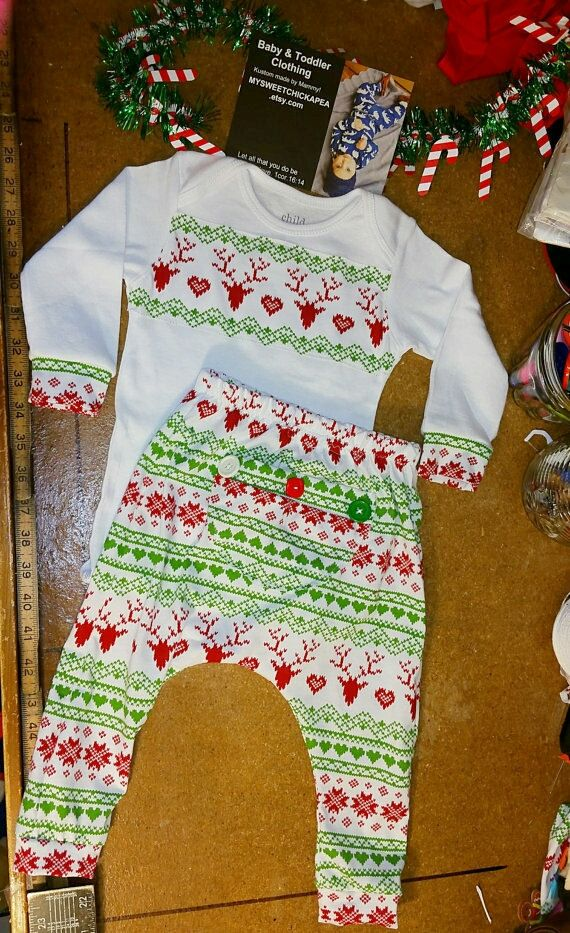 Hey, I found this really awesome Etsy listing at https://www.etsy.com/listing/259891805/baby-christmas-pajamas-baby-pajamas