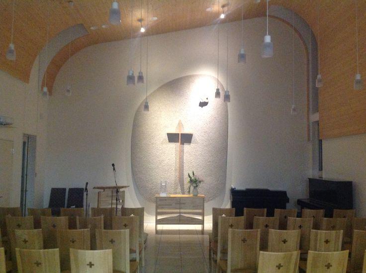 Awaji Lutheran Church, Sumoto, Japan.  Christianity in Japan. West Japan Evangelical Lutheran Church.