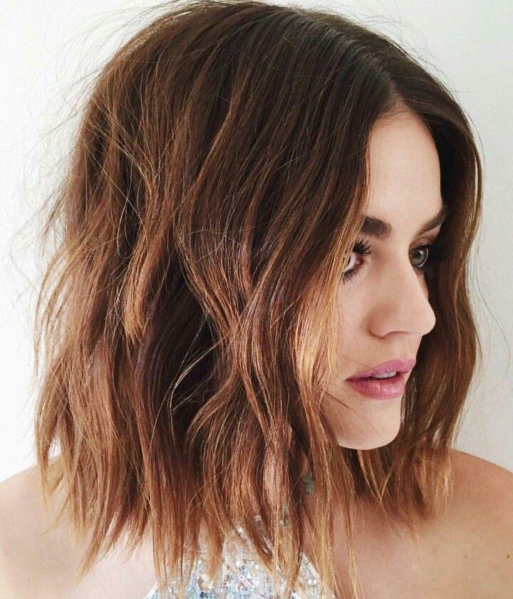 Lucy hale hair hairstyle short bob lob