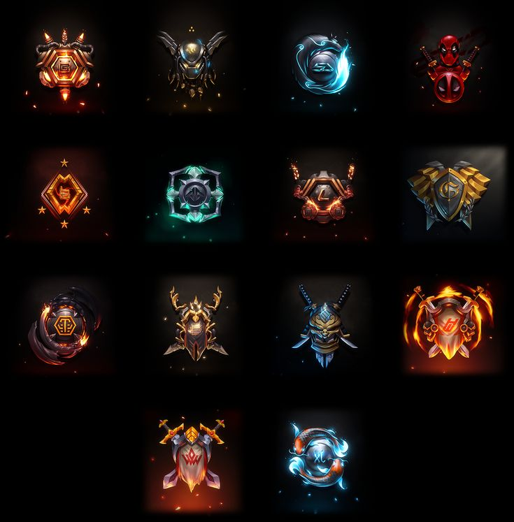 Fantasy Emblem Collection III on Behance