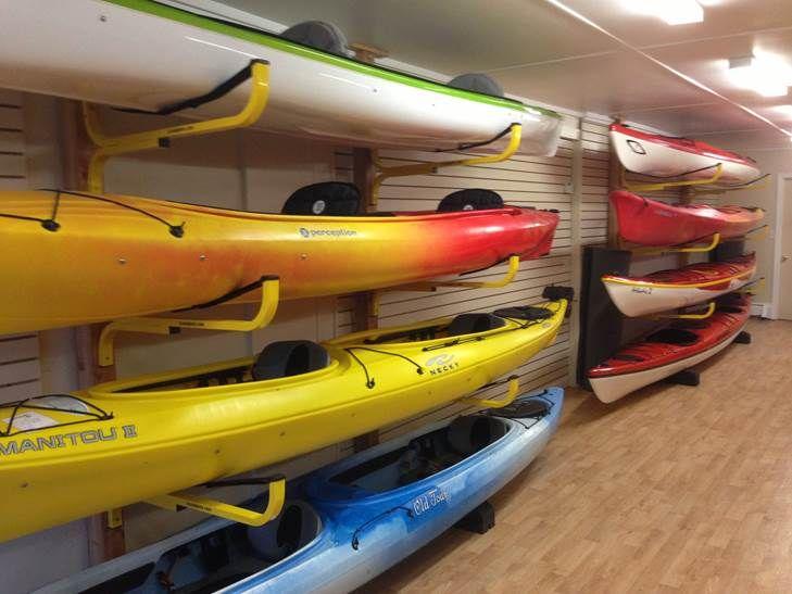 Outdoor Kayak Storage Racks