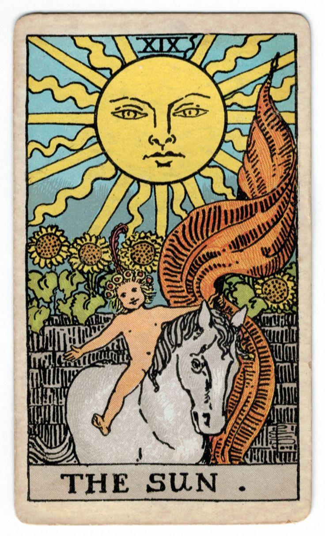 Atu 19 the sun the sun tarot card the sun tarot