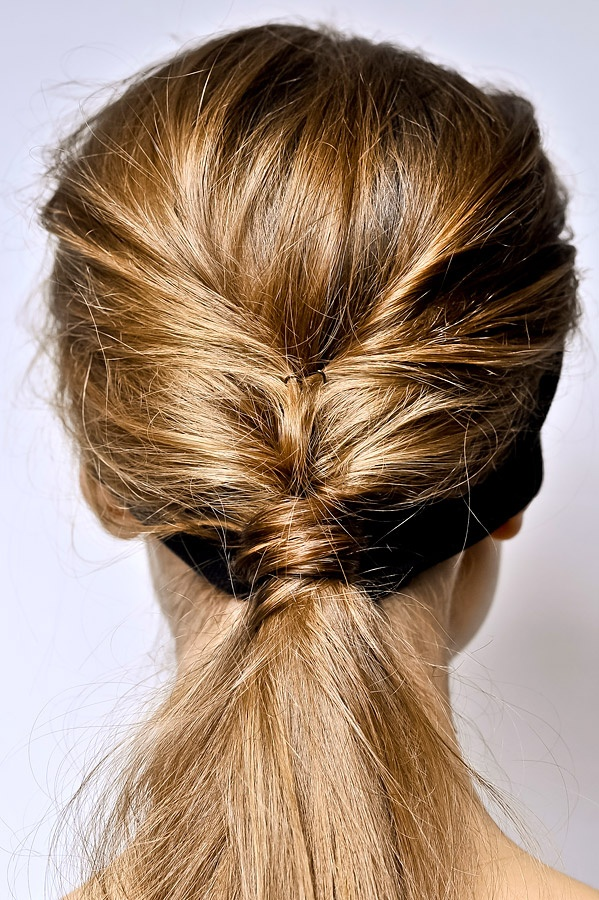 I Think This Will Be A Cute Twist On My Original Ponytail For Basketball Season Casual HairstylesBeauty IdeasWedding IdeasHair
