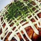 """Okonomiyaki recipe -- """"Okonomi"""" means 'whatever you like' and """"yaki"""" means 'cook or fry.' Serve with your favourite sauce"""