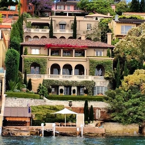 Sydney real estate #sydney #harbour #waterfront #palatial #bigmoney