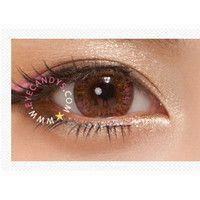ROYAL VISION CREAMY SUNSET PINK Circle Lens Fashion Colored Contacts Enlarging Korean Contact Lenses | EyeCandy's
