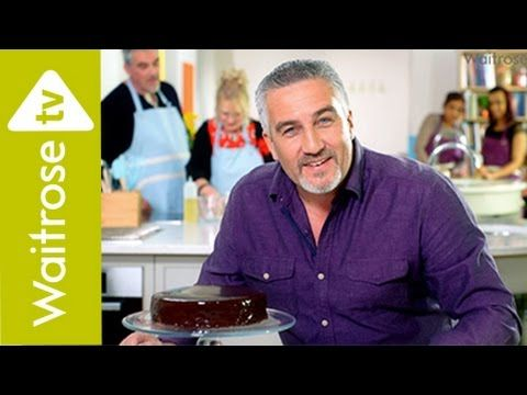Get Baking with Paul Hollywood   Gluten-free Chocolate and Almond Cake  ...