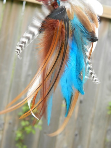 #Feathers for your #Supplies! via @laura cline: Heavens Feathers, Brown Black, Black White, Color Combinations, Crafts Feathers, Black Cream, Beautiful Feathers, Kid, Tribal Feathers