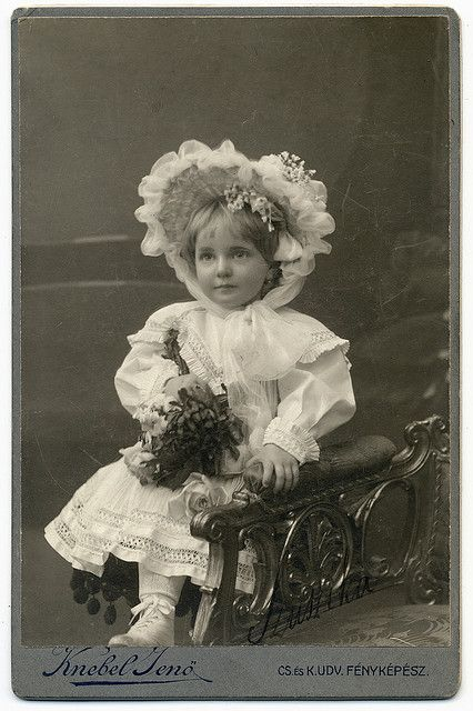 Look at this little Angel...it seems to me, that children back then, were inherently just the most stunning little cherubs. 1912