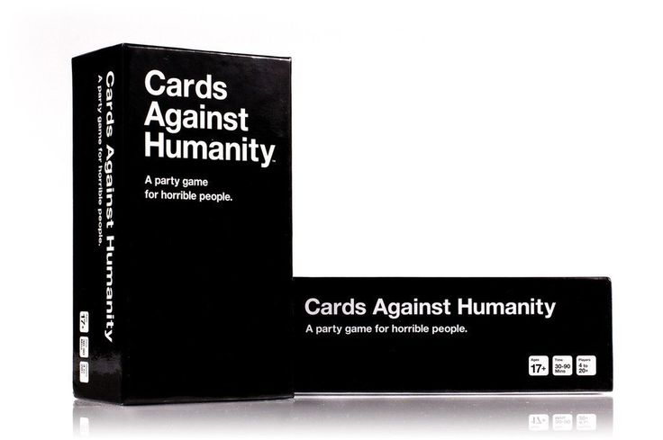 Cards Against Humanity. You are all terrible people. Don't believe me? Play this game. Just wait and see what hysterical combinations you and everyone else plays.