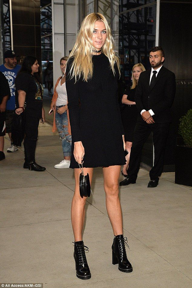 Little black dress: Last week, the former reality star opted to wear the same shoes to the...