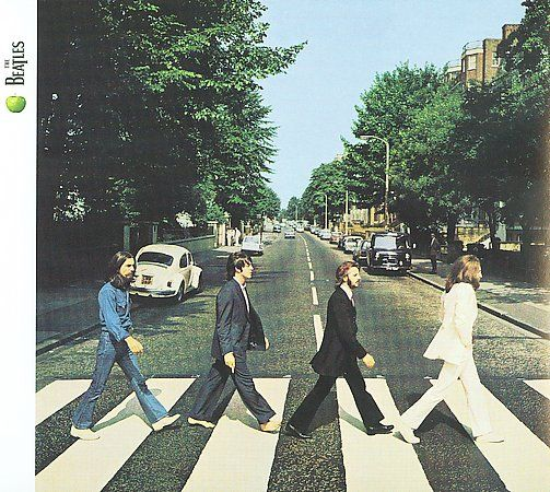 Beatles - Abbey Road CD Cover Art