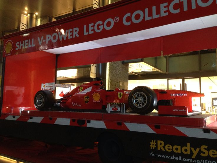 Shell V-Power F-1 Lego Collection