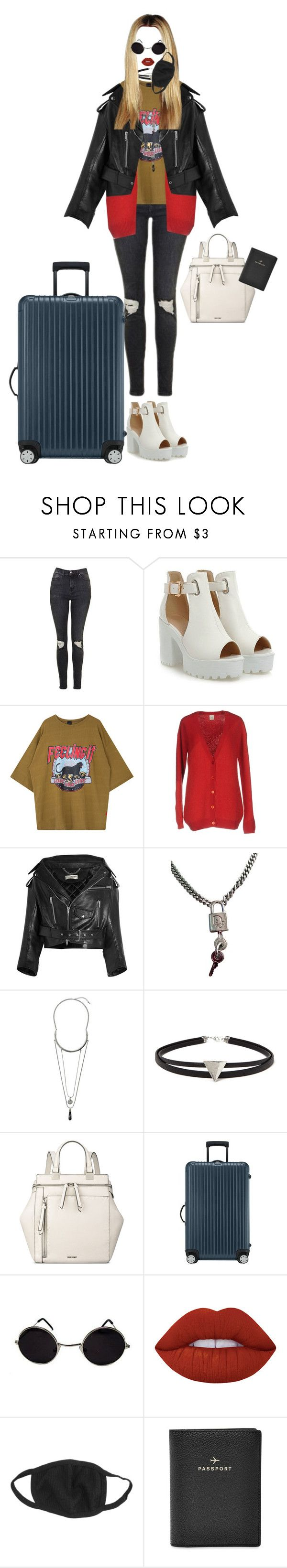 """[ fancam ] YeonA at Incheon Airport"" by xxeucliffexx ❤ liked on Polyvore featuring Topshop, Pinko, Balenciaga, Christian Dior, Forever 21, Nine West, Rimowa, Lime Crime, FOSSIL and gemini"