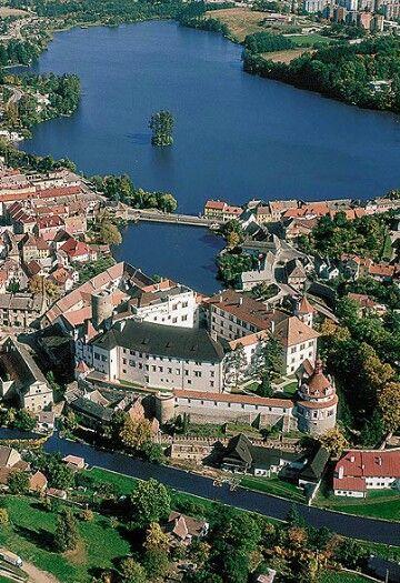 Jindrichuv Hradec. Caste in the Czech Republic.