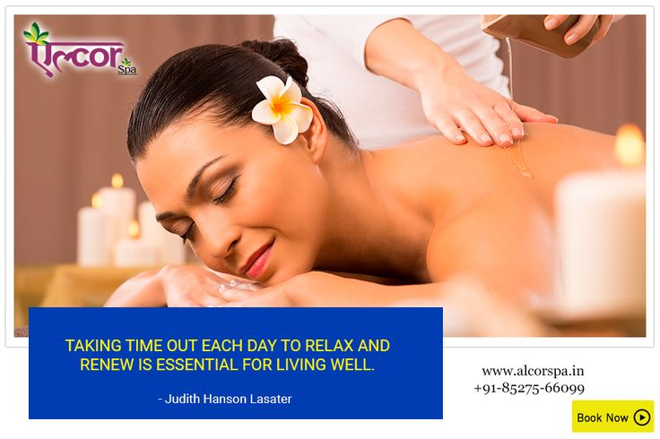 Book an appointment today to give yourself some relaxation at: http://alcorspa.in/book-appointment/ #AlcorSpa #TuesdayMotivation #RelaxAndRenew #PamperYourself