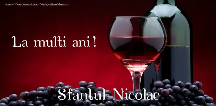 La multi ani! Sfantul Nicolae