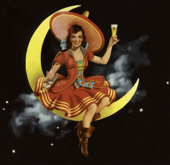 She's one of the most famous advertising icons of the past century, yet she remains an enigma. The Miller High Life Girl in the Moon has come to represent both the brand, and the company that created her.