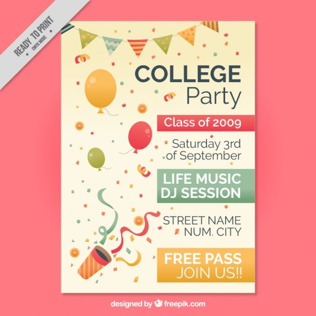 College Flyer  | Graphic View