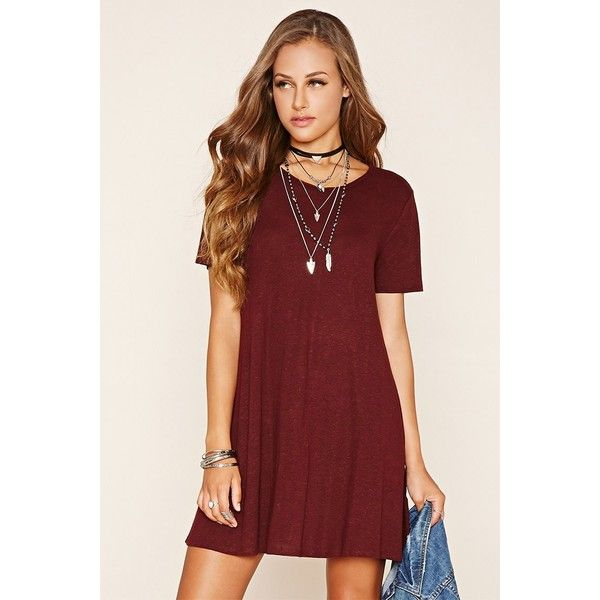 10  ideas about Red T Shirt Dress on Pinterest - Crop top hoodie ...