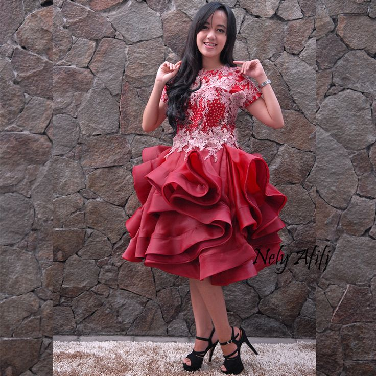 Prom Dress, Batik Fashion, Lace gown, cocktail dress