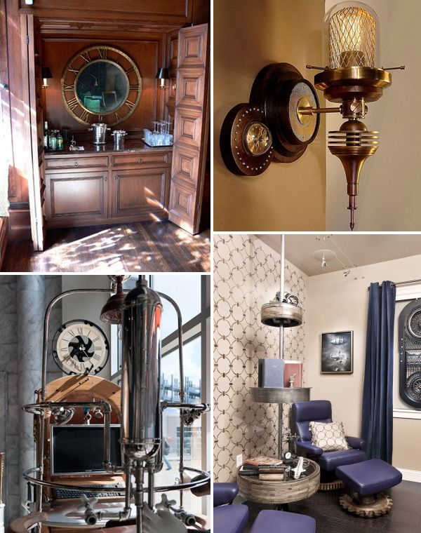 18 Best Images About Steampunk Interior Design On