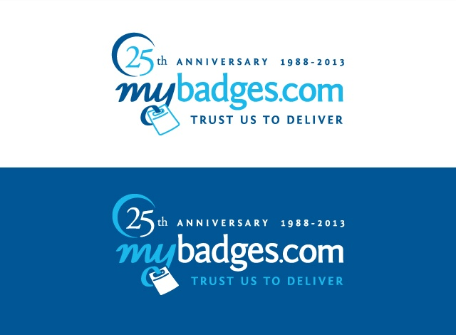 25 best images about mybadges 25th anniversary logo 25th anniversary logo ideas roman numerals 25th Anniversary Event Logo