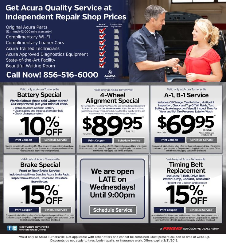 Acura Express Parts Promo Code September Sale - Acura dealer service coupons