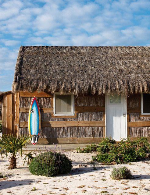 Home & Garden : Cabanes de pêcheurs au Portugal