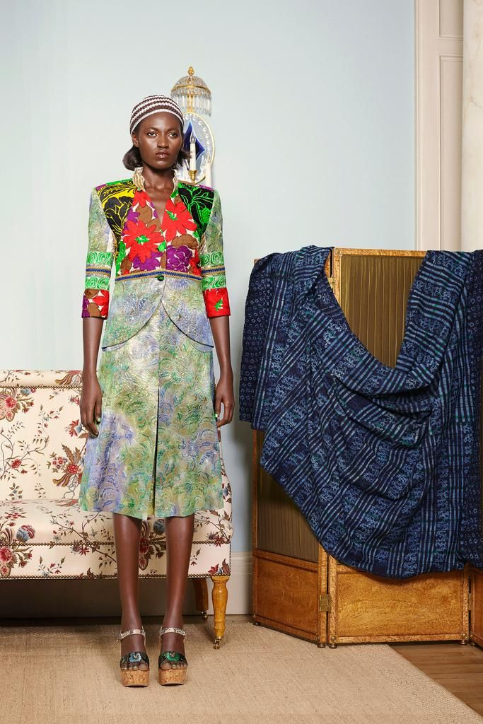 Brand: Duro Olowu Designer: Duro Olowu Spring 2015 RTW Collection