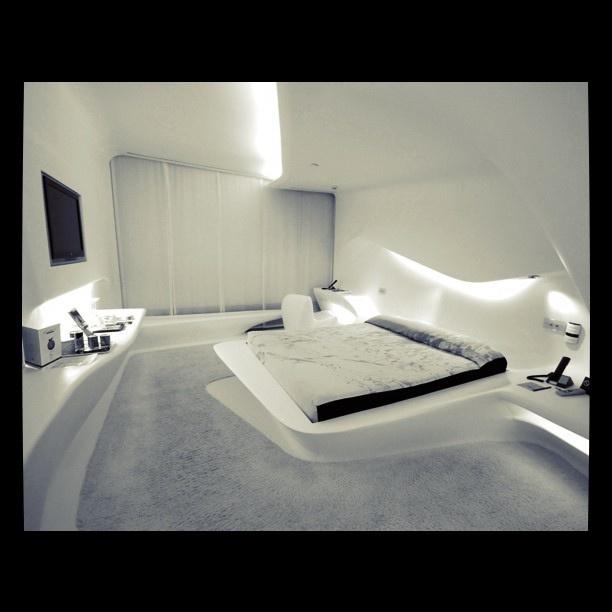 Designer-Wohnungen Von Zaha Hadid-Zeitgenössische Materialien