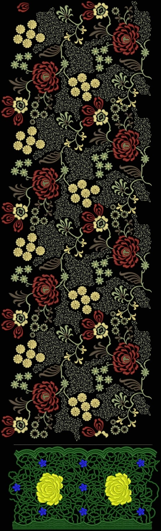 Latest Embroidery Designs For Sale, If U Want Embroidery Designs Plz Contact (Khalid Mahmood, +92-300-9406667) www.embroiderydesignss.blogspot.com Design# Angar50