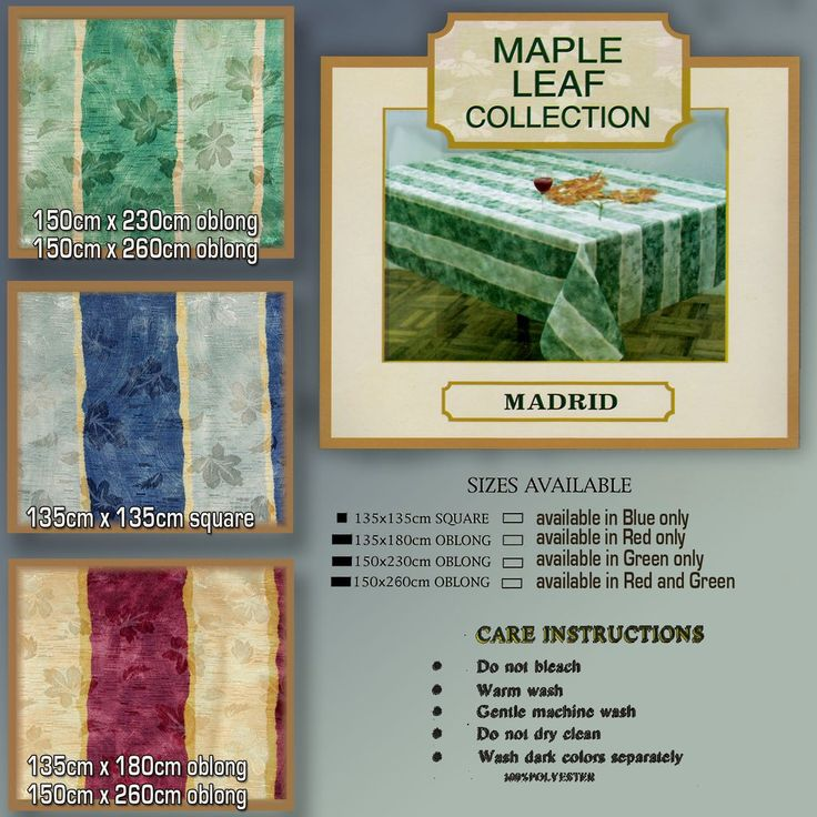 Shiny and very classy Madrid is just one of range of Table cloths of all colours and sizes floral tablecloths shabby…