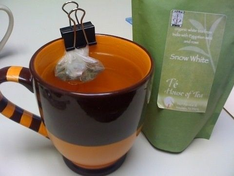 Tea Bag Saver | 54 Uses For Binder Clips That Will Change Your Life