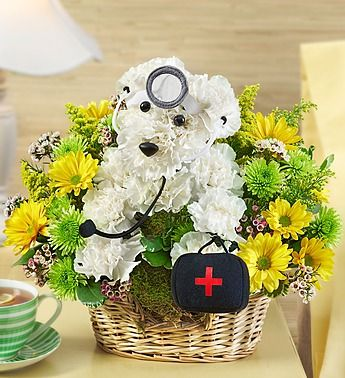 Doggie Howser M.D.™ From 1-800-FLOWERS. Totes getting my nurse mother this one day. Too cute!